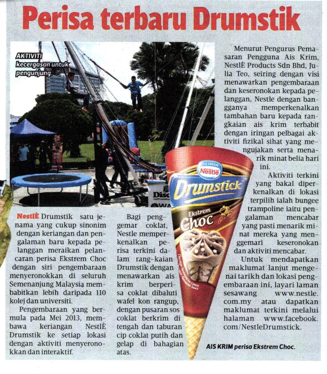 23 July 2013 - Harian Metro - Newspaper